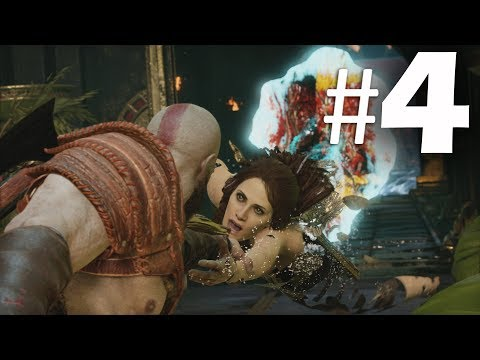 God of War (2018) Gameplay Walkthrough Part 4 - Realms - PS4 Pro 4K