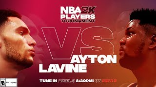 NBA2K Tournament Full Game Highlights: Deandre Ayton vs. Zach LaVine