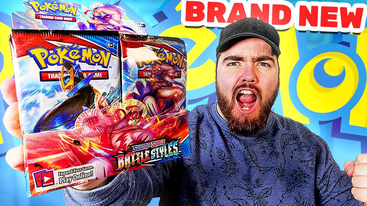 Opening The *NEW* Battle Styles Pokemon Booster Box!