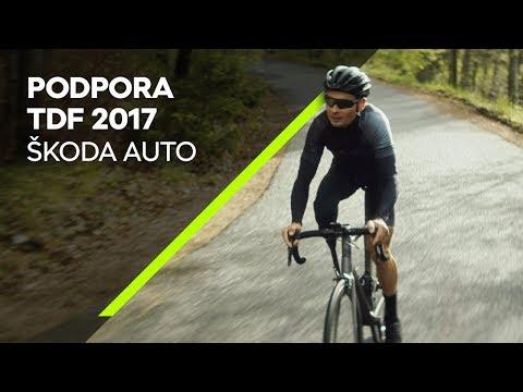 ŠKODA AUTO: Hrdým partnerem všech cyklistů a oficiálním sponzorem Tour de France 2017