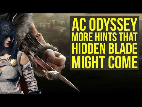 Assassin's Creed Odyssey More Hidden Blade Animations Found & Way More (AC Odyssey Hidden Blades) thumbnail