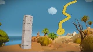 The Witness: All Environmental Puzzles - Desert Obelisk (Part 1 of 6)