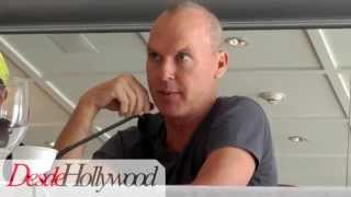 Michael Keaton's Funny BATMAN Suit Story