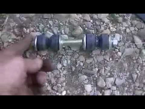 Replacing Front Sway Bar Link Youtube