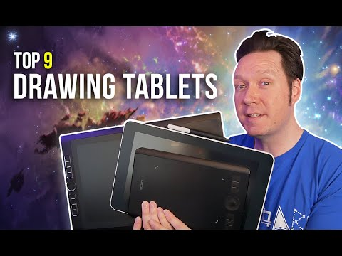 Top 9 Best Drawing Tablets 2020