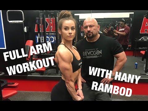 FULL ARM DAY WITH HANY RAMBOD @ AKA GYM | CRYO | LAUREN FINDLEY