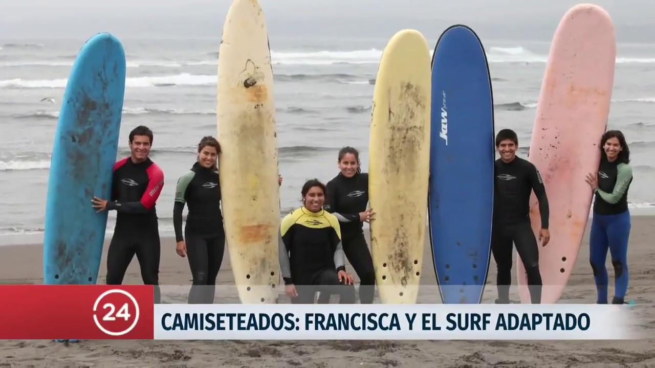 Camiseteados: Francisca Silva, surf para todos | 24 Horas TVN ...