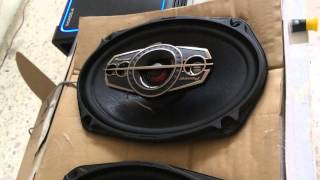 "PIONEER TS-A6995S 5-Way 6""x9"" 600W Mid Bass Speaker"