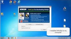 How to uninstall WinZip. Manual removal guide