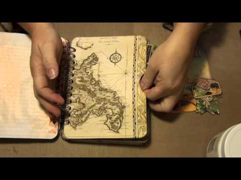 Vintage Hawaiian Travel Journal-DT project for Amy Joy