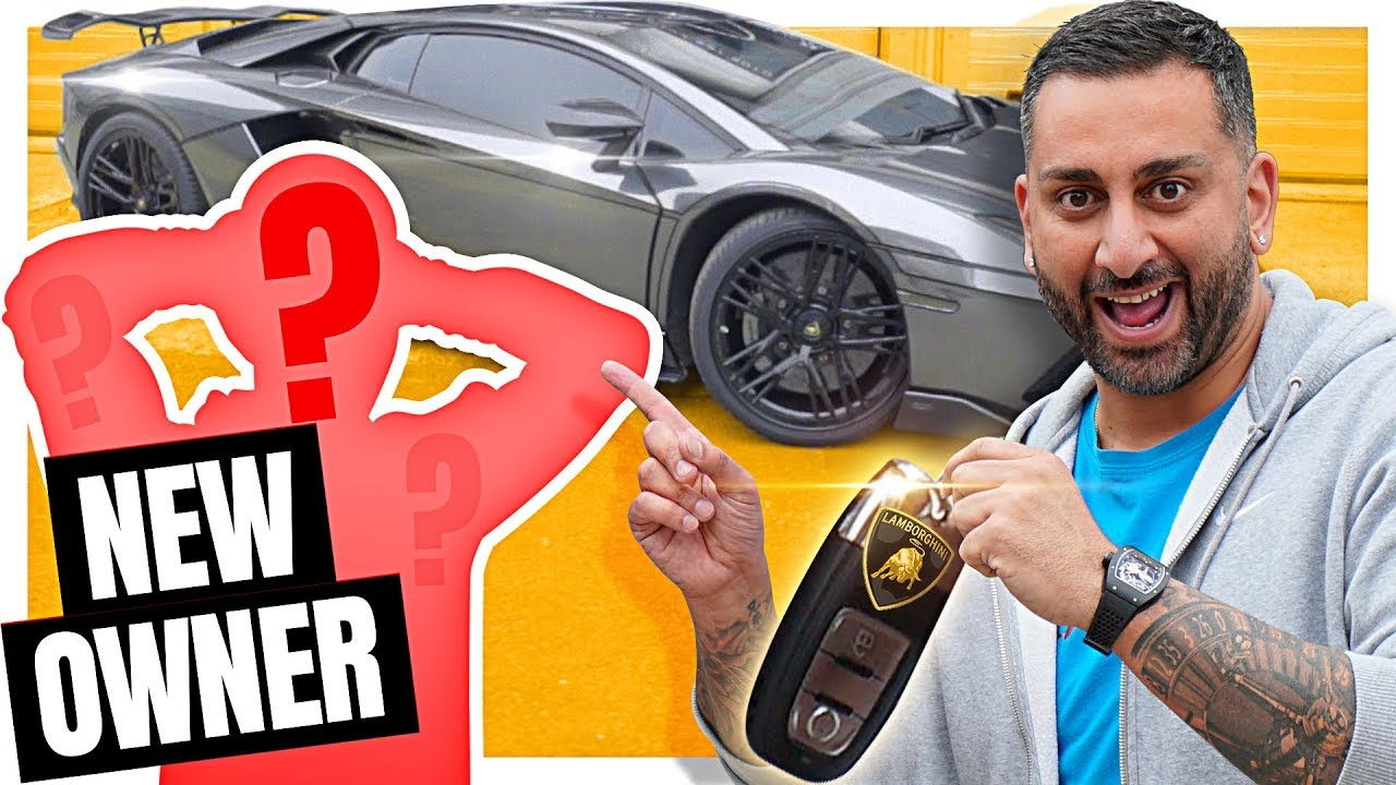 Inspirational Aventador Reveal And Collection With New Owner