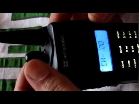 تعليم توليف الأجهزة اللاسلكية من طراز WEIERWEI VEV-3288s