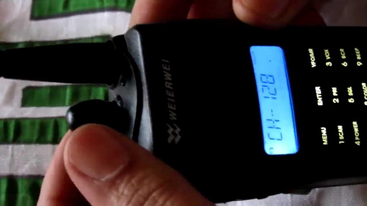 تعليم توليف الأجهزة اللاسلكية من طراز Weierwei Vev 3288s Youtube