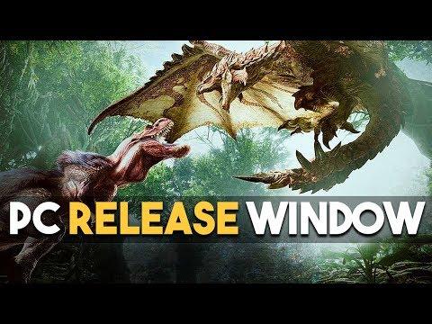 MONSTER HUNTER WORLD PC RELEASE WINDOW and LAWBREAKERS BLAMES PUBG