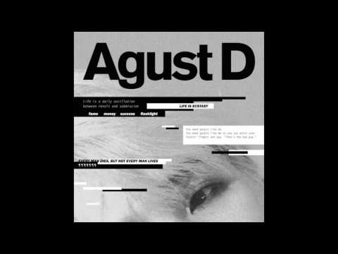 Agust D (SUGA) - So Far Away (Feat SURAN) Instrumental with BG Vocals