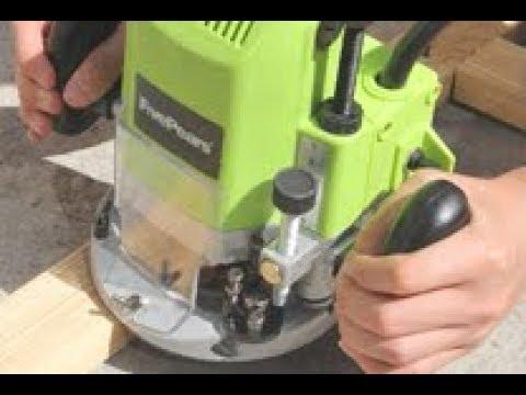 Ручной электро фрезер FIVE PEARS 220 V 1850 W цанги 6,8 и 12 мм глубина 55 мм в Алиэкспресс