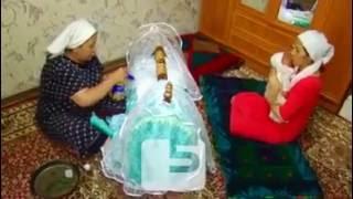Бешик - колыбель, как часть традиций и ритуалов у кырызов