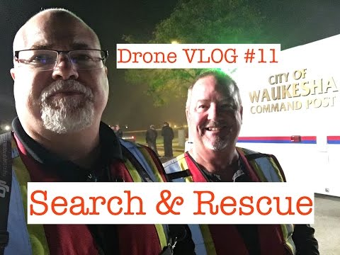 Drone VLOG #11 | Search & Rescue | FLIR