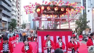 第二回浅草雷門盆踊り 浅草音頭 世志凡太さん&浅香光代さん 2018年9月8日.