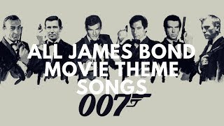 Download All James Bond Movie Theme Songs MP3 song and Music Video