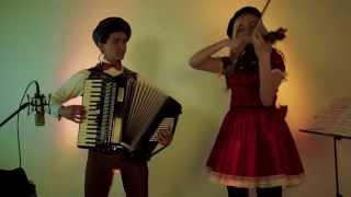 """""""Pigalle"""" Acordeón Francés y Violín - Maya y Riv / Music Art Colombia"""