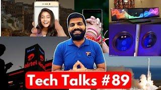 Tech Talks #89 No Nokia 8, AirTel 3G to 4G, Stolen Laptop, SpaceX Falcon 9, Whatsapp Data
