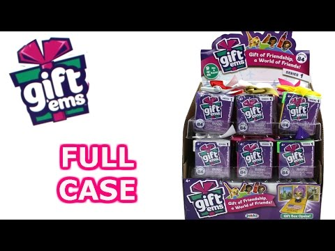 Gift 'Ems Blind Box Full Case Unboxing Series 1 Gift Box Opening Entire Case