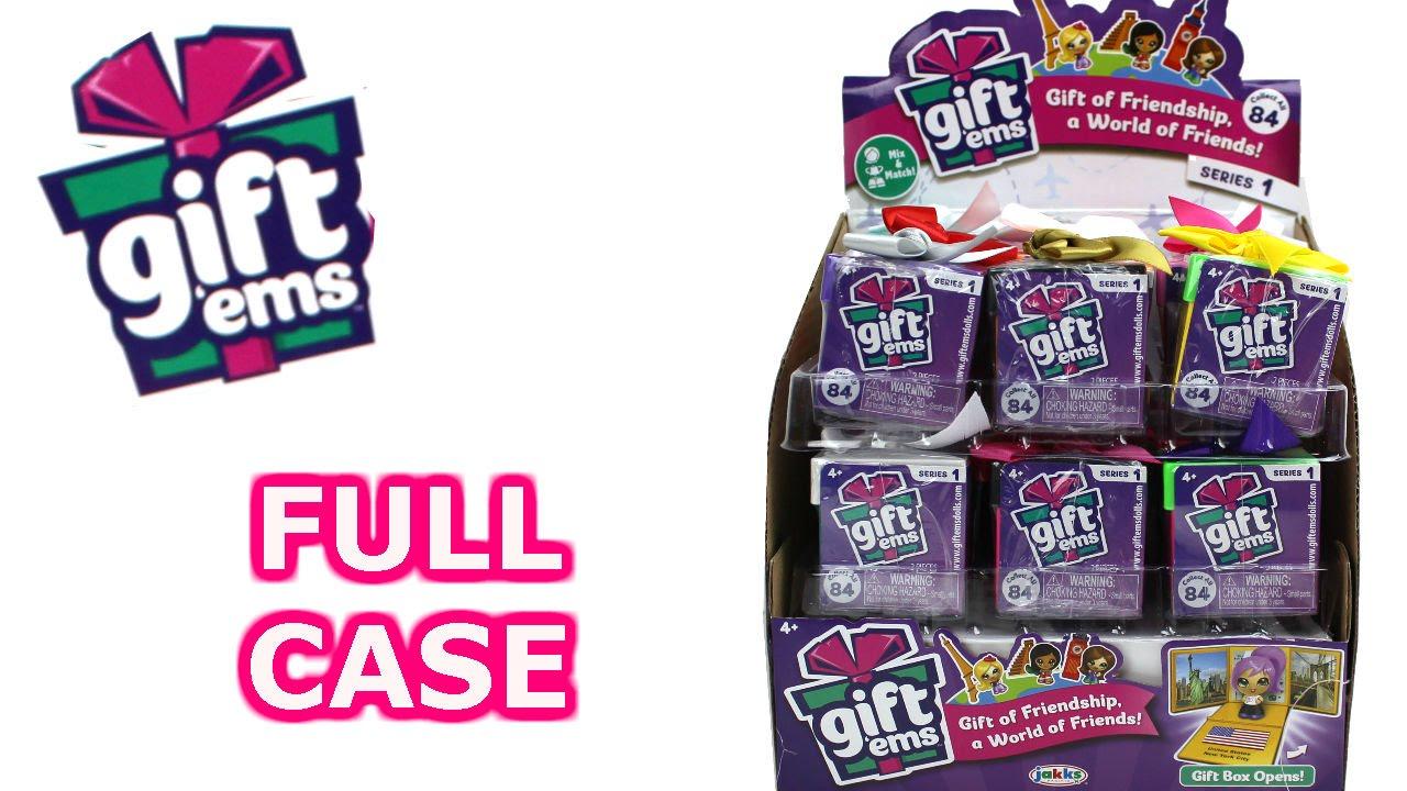 Gift Ems Blind Box Full Case Unboxing Series 1 Gift Box