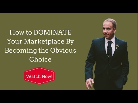 [CCTV] Ep #6: How to DOMINATE Your Marketplace By Becoming the Obvious Choice