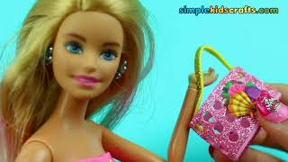 30 DIY Barbie Handmade Handbags and Purses