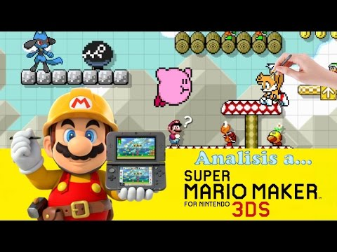 Analisis a Super Mario Maker for 3DS - Loquendo