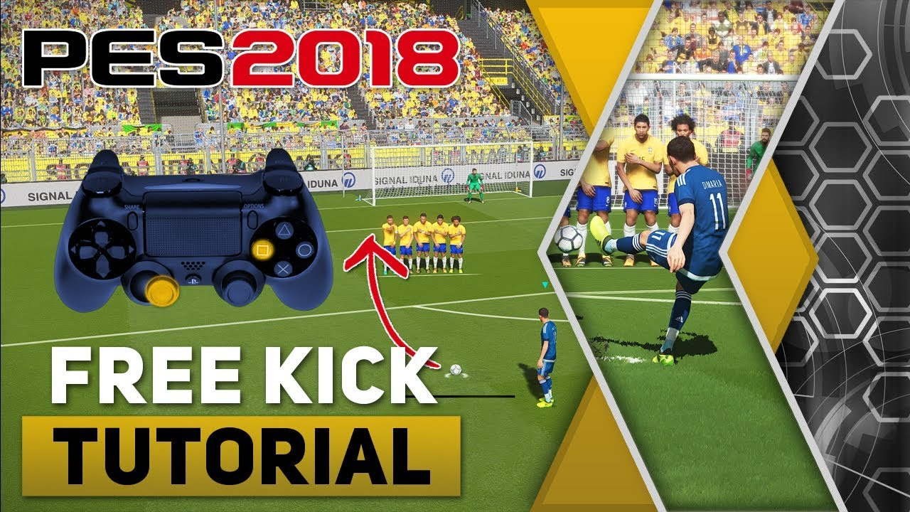 PES 2018 All Tricks and Skills Tutorial | Evo-Web