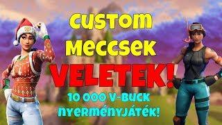 Custom Gamek avec vous! 10 000 V-Buck ! Cadeau: O [Fortnite]-! custom! créateur! dc! Insta