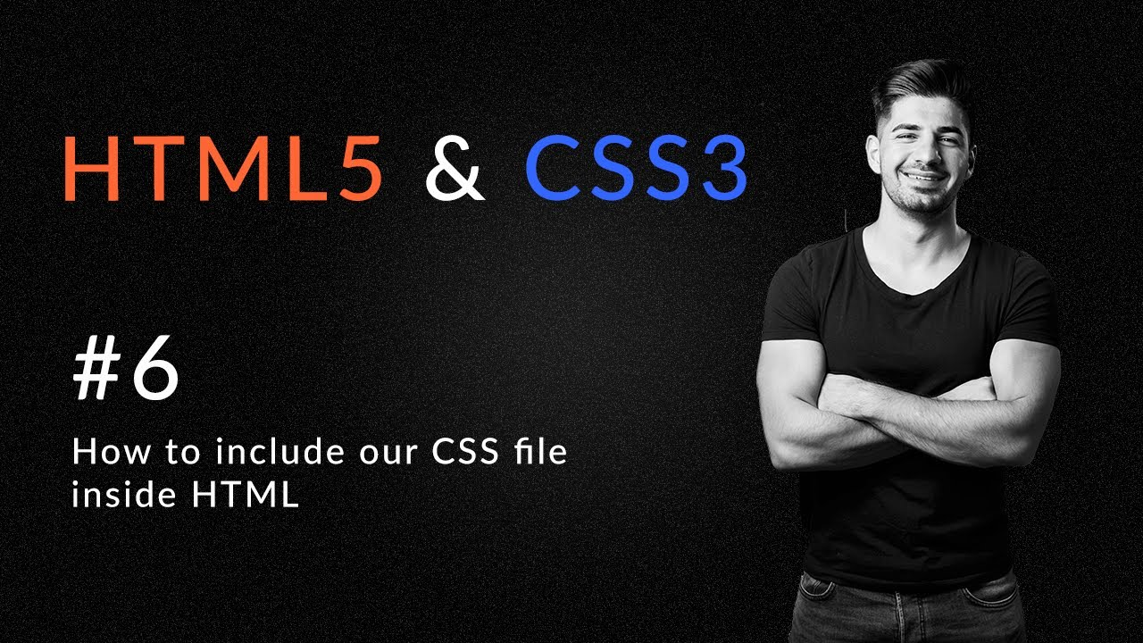 How to include Our CSS3 File In Our HTML5 - Introduction and Learn HTML5 and CSS3