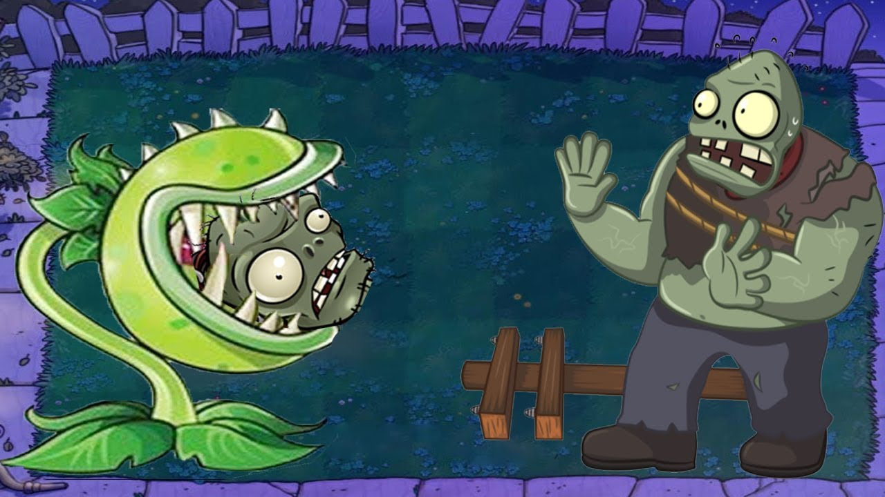Plants vs Zombies Hack -  Super Chomper vs Giga-gargantuar ††
