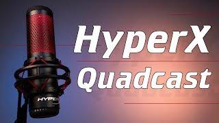 Микрофон HyperX Quadcast - лучше любой гарнитуры