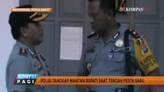Pesta Sabu, Mantan Bupati Teluk Wondama Papua Dibekuk Polisi
