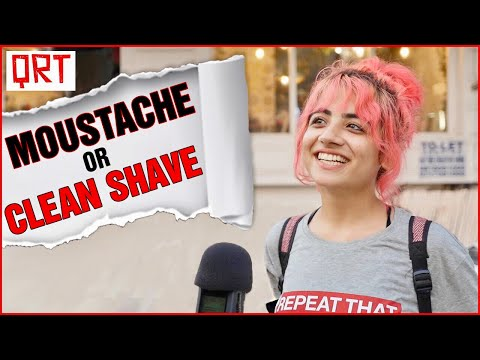 Guys With MOUSTACHE or Clean SHAVE?  Delhi Girls About Boys  Boys Must WATCH  Quick Reaction Team