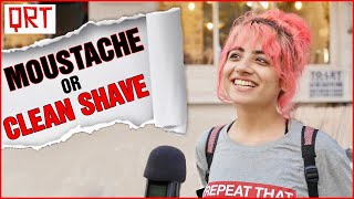 Download lagu Guys With MOUSTACHE or Clean SHAVE? | Delhi Girls About Boys | Boys Must WATCH | Quick Reaction Team