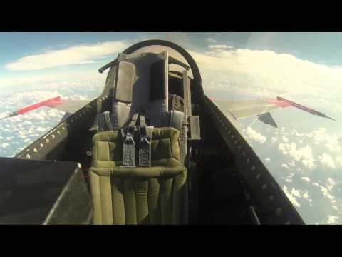 GoPro: Boeing's QF-16 Goes Unmanned