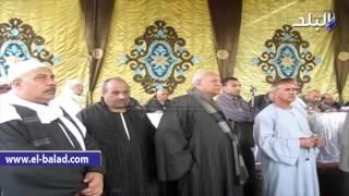 بالفيديو والصور.. الاجهزة الأمنية والسياسية بالفيوم تنهى خصومة قرية الدالى