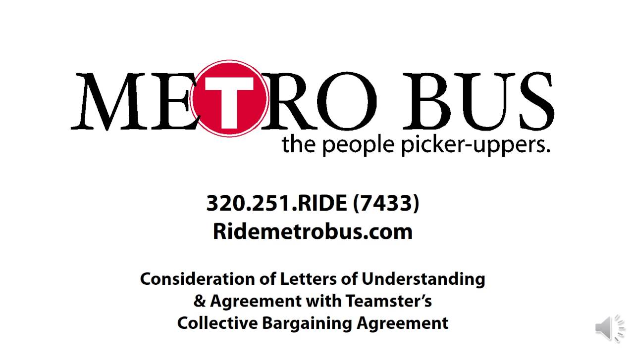 Metro Bus April 19 2016 Teamsters Collective Bargaining