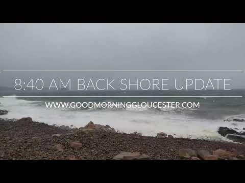 8:40AM March 2, 2018 Storm Back Shore Update