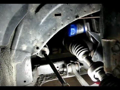 Saturn S-series Oil Change Tru Wheel Well(updated) - YouTube