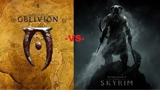 Oblivion vs. Skyrim - Which is Better? (Full HD 1080p)