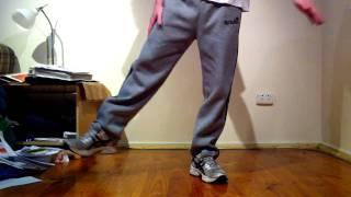 Shuffling Tutorial - How to do Robot Dance from Party Rock Anthem (Spongebob)