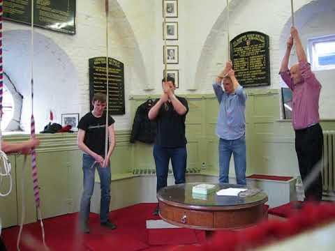 Bellringing at Birmingham Cathedral - Heavy minor 5