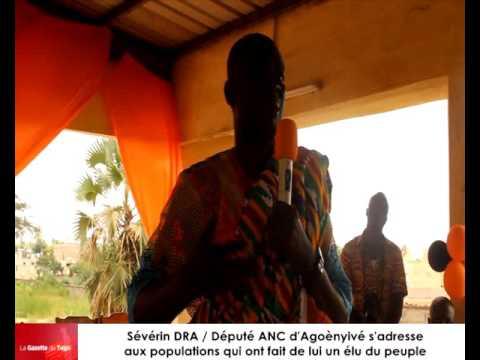 Le député ANC Sévérin DRA fait des révélations aux chefs tradionnels d'Agoè