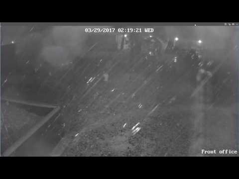 March 29 Storm - Arlington, TX - Front Office Camera