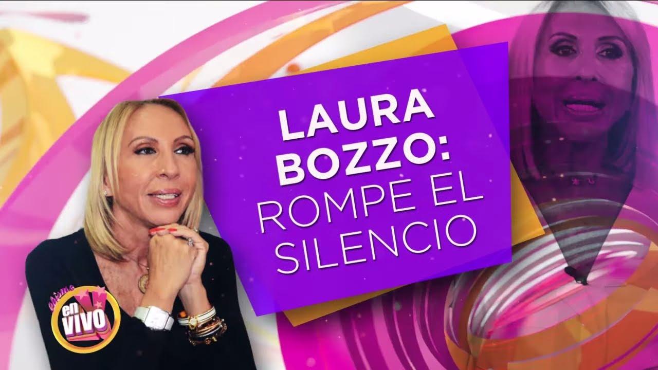 LAURA BOZZO habla sobre sus demandas   Chisme En Vivo